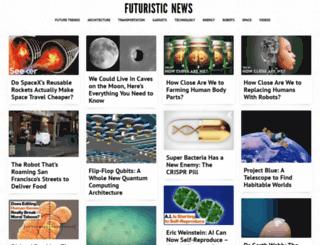 futuristicnews.com screenshot