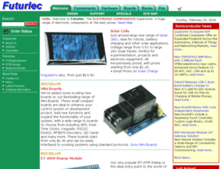 futurlec.com.au screenshot