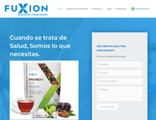 fuxion.com.ve screenshot