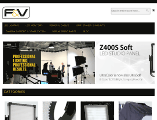 fvlighting.com screenshot