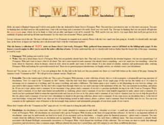 fweet.org screenshot