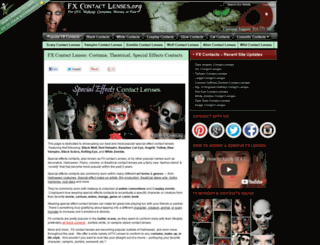 fxcontactlenses.org screenshot