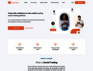 fxjunction.com screenshot