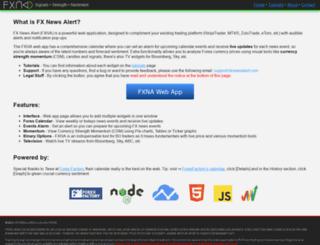 fxnewsalert.com screenshot