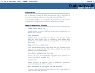fxnion.free.fr screenshot