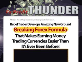fxprofitthunder.com screenshot