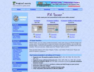 fxsaver.com screenshot