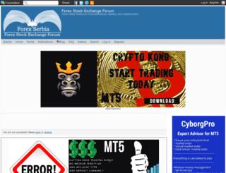 fxsforexsrbijaforum.com screenshot