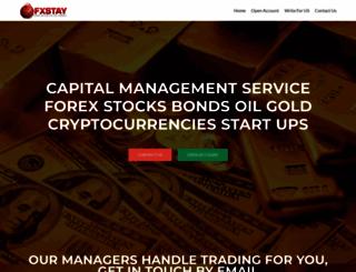 fxstay.com screenshot