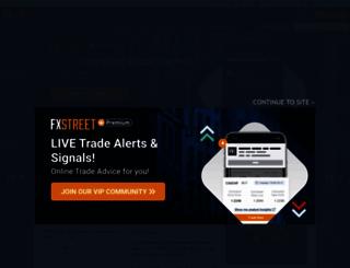 fxstreet.com screenshot