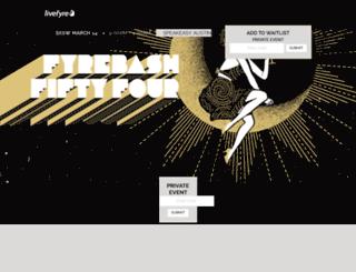 fyrebash.splashthat.com screenshot