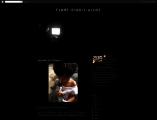 fyrnzhumbleabode.blogspot.com screenshot
