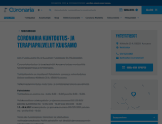 fysiokuusamo.fi screenshot