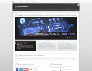 g-sonique.com screenshot