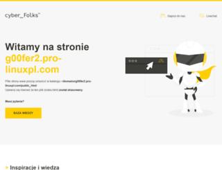 g00fer2.pro-linuxpl.com screenshot