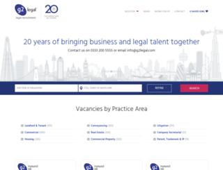 g2legal.co.uk screenshot
