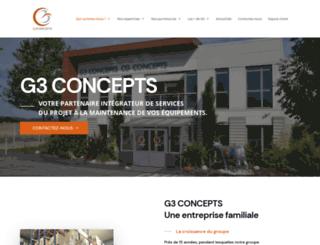 g3concepts.fr screenshot
