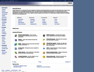 g6ftpserver.com screenshot