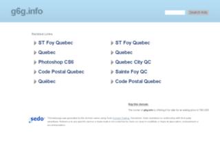g6g.info screenshot