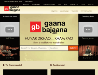 gaanabajaana.com screenshot