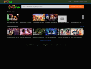 gaanamp3club.com screenshot