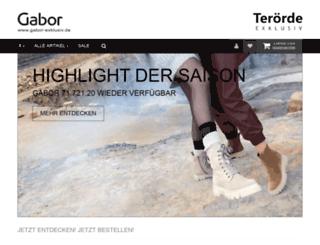 gabor-exclusive.de screenshot