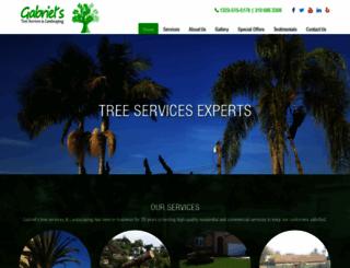 gabrieltreeservices.com screenshot