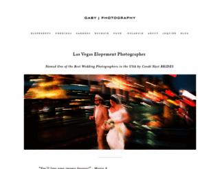 gabyjphotography.com screenshot