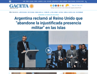 gacetamercantil.com screenshot