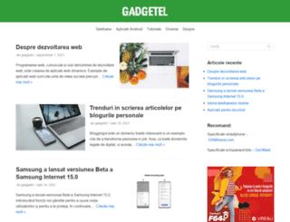 gadgetel.ro screenshot