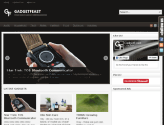 gadgetfeast.com screenshot