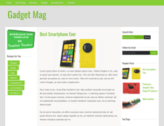 gadgetmag-trackers.blogspot.in screenshot