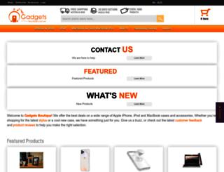 gadgetsboutique.com.au screenshot