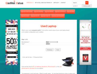gadgetvalue.com screenshot