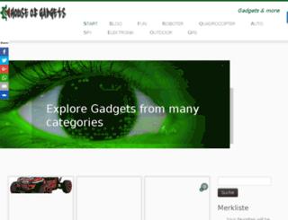 gadgetwelt-geek-shop.de screenshot
