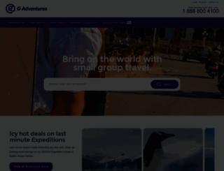 gadventures.co.uk screenshot