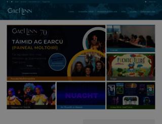 gael-linn.ie screenshot