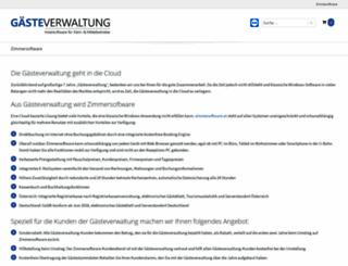 gaesteverwaltung.at screenshot