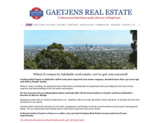 gaetjens.com.au screenshot