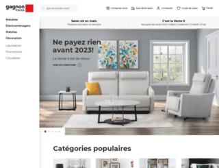 Access accueil gagnon fr res for Gagnon frere meuble