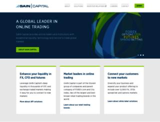 gaincapital.com screenshot