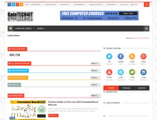 gaintech4it.com screenshot