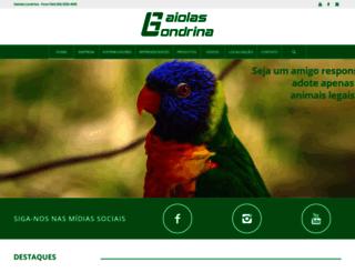 gaiolaslondrina.com.br screenshot