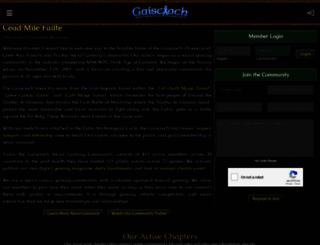 gaiscioch.com screenshot