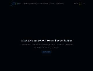 gajahminaresort.com screenshot