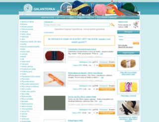 galanterka.cz screenshot