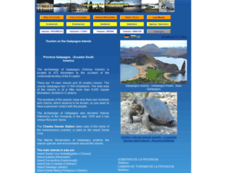 galapagos-reise.com screenshot
