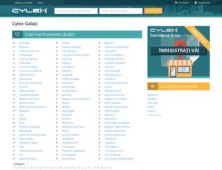 galati.cylex.ro screenshot