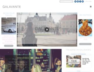 galavante.com screenshot
