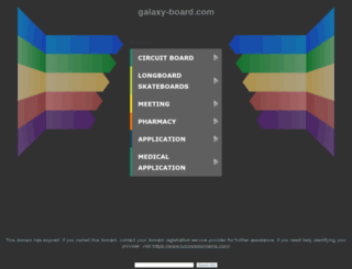 galaxy-board.com screenshot